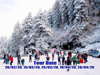 Tour Programme of Shimla, Kinnar and Kalpa