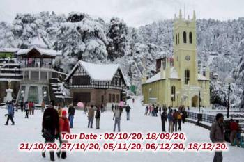 Tour Programme of Dalhousie Dharamsala, Simla and Manali