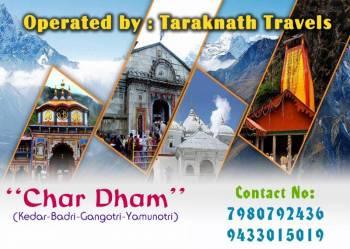 Chardham kedar, Badri, Gangotri - Jamunotri -Haridwar Tour