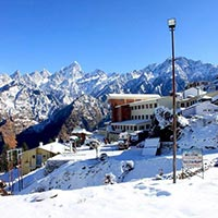 Auli Ski Resort out side View