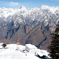 Auli in Winter Season