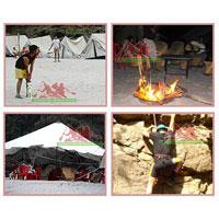 1 Night Stay Shivpuri Beach Camp Tour