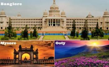 Bangalore - Mysore - Ooty