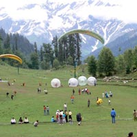 Solang Valley (In Summer)