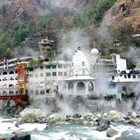 Gurudwara and Shiva Temple at Manikaran