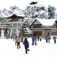 Ridge, Shimla (In Winters)