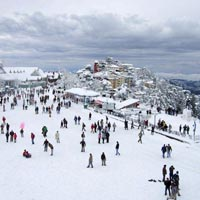 Ridge, Shimla (In Winters)