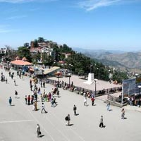 Ridge, Shimla (In Summer)