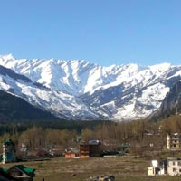 Snow Caped Mountains, Manali