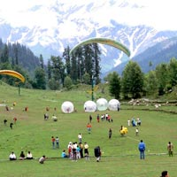 Solang Valley, Manali (In Summer)