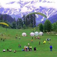 Solang Valley in Summers