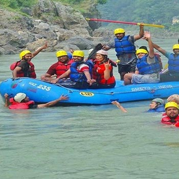 Kaudiyala to Rishikesh River Rafting Tour