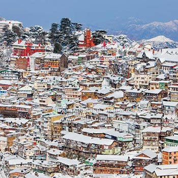 Shimla 2N/3D package from Chandigarh