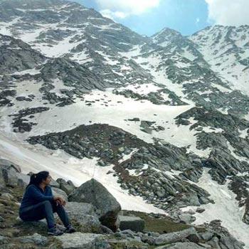 Indarahar Pass Glacier Trek Tour