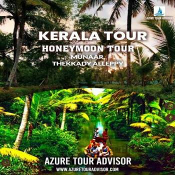 Kerala Honeymoon/Family Tour Package 4 Nights 5 Days