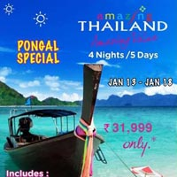 Thailand Tour Package From Chennai By Air By Tamilnadu