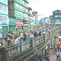 Gangtok M.G mark road