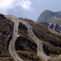 Zuluk Sikkim roadway