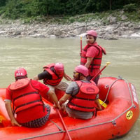 Rishikesh Rafting & Camping Adventure Package