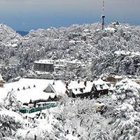 View from Shimla Hotel
