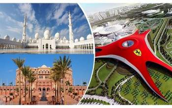 Delightful Abu Dhabi Tour Package From Delhi