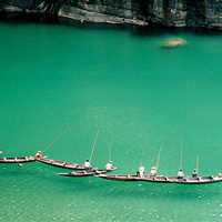 Cherrapunji Nameri Trekking Rafting Tour Package