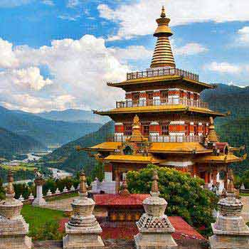 Thimpu-Paro-Punakha-Bhutan Package 8 Days / 7 Nights