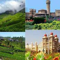 Bangalore - Mysore - Ooty - Kodaikanal 8 Days / 7 Nights Tour