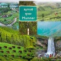 Kerala - Munnar - Thekkady - Kovallam (7N/8D) Tour