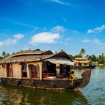 Munnar -  Thekkady - Kanyakumari  - Kovalam  - Kumarakom  - Alleppey - Cochin 8N 9 D Package