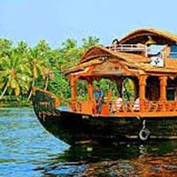 Cochin - Munnar - Thekkady - Kanyakumari - Kovalam - Alappuzha Houseboat - Kumarakam - Cochin (10N/1