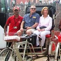 Old Delhi Rickshaw Ride Tour