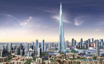 Dubai with Burj Khalifa Tour