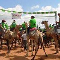 The international Maralal Camel Derby 2016 Tour