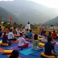 Relaxing Yoga Tour in Himalayas