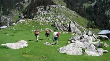 Triund Trek Camping