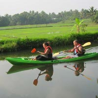My Kayaking Adventure Kerala
