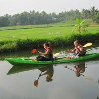 My Kayaking Adventure Kerala