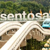 Singapore city tour + Sentosa island