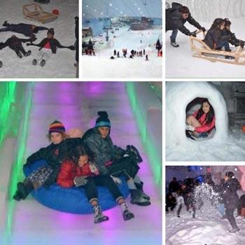 SNOW PARK FUN TRIP