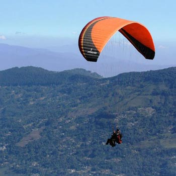 Paragliding in Darjeeling