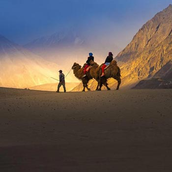Ladakh Heritage Monastery Tours & Nubra Valley Package