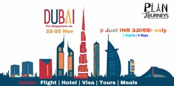 Dubai Fixed departure from Plan Journeys