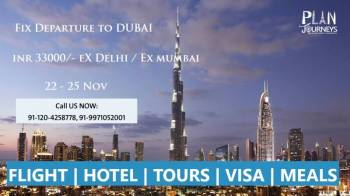 Dubai Fixed tour from Plan Journeys