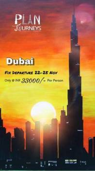 Dubai group tour with Plan Journeys