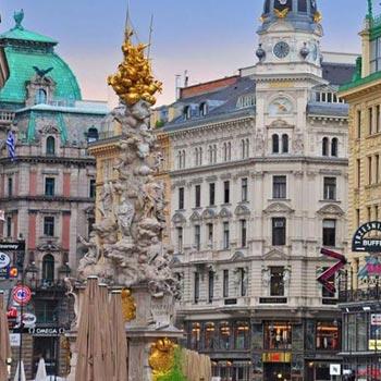 Imperial Capitals Package (2N Vienna , 2N Budapest  2N Prague)