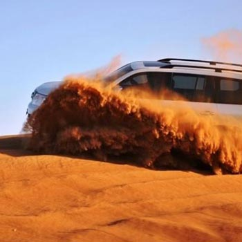 Jeep Safari Tour in Dunes of Rajasthan