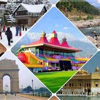 Delhi - Shimla - Manali - Dharmshala - Dalhousie/Amritsar/Delhi 10 Night`s/ 11 Day`s Tour By cab