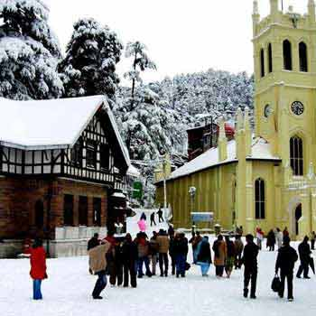 Delhi - Shimla - Delhi 03 Night`s/ 04 Day`s Tour By Cab
