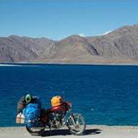 Pangong Lake Motor bike Tour